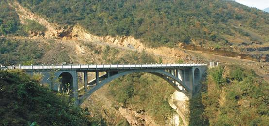 绵阳北川笼子口大桥